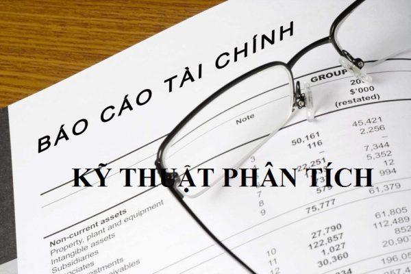 Kỹ thuật phân tích tài chính