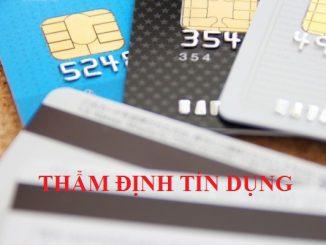 Thẩm định tín dụng