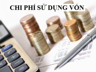 Chi phí sử dụng vốn