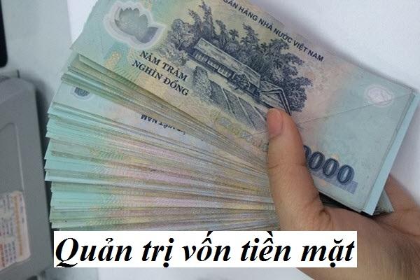 Quản trị vốn tiền mặt