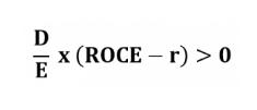 ROCE > r