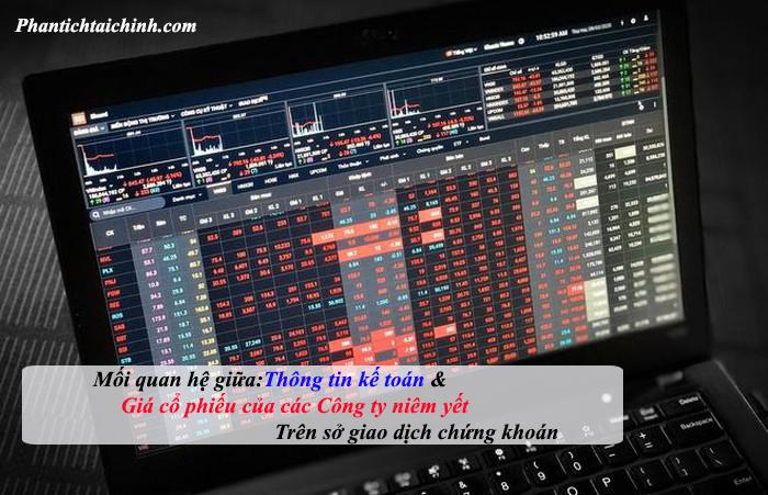 Nghiên cứu mối quan hệ giữa thông tin kế toán và giá cổ phiếu của các công ty niêm yết trên sở giao dịch chứng khoán