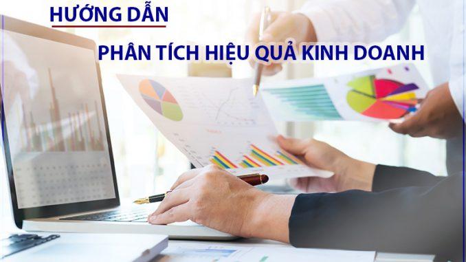 Hướng dẫn phân tích hiệu quả kinh doanh