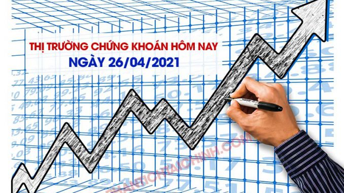 Thị trường chứng khoán hôm nay ngày 26/04/2021